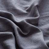 Stone lavados Microfibra Flouncing Lençol define com margem