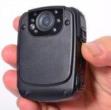 1080P 2.0 Zoll-Bildschirm-Karosserie getragener Polizei-Kamera-Minitasten-Spindel-Nocken