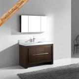Vanità di legno della stanza da bagno della superficie dell'impiallacciatura Fed-1084, Governo di stanza da bagno