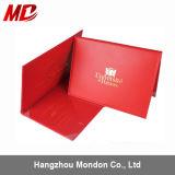 PU Red 또는 Maroon Custom Graduation Diploma Cover Book Style