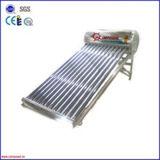 予備加熱された加圧銅のコイルの真空管の太陽給湯装置