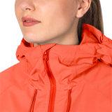 As mulheres Waterproof o revestimento ao ar livre respirável da chuva