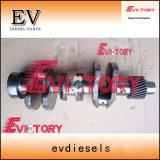 Aplicar para motor Yanmar 3TNV82 3TNV82A 3tne84 3tn84 Biela mancal de rolamento da biela definido