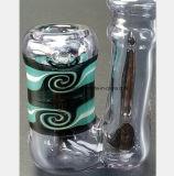 De purpere Rokende Pijp van het Glas van de Waterpijp van het Glas van de Terugwinning van de Olie van de Filter