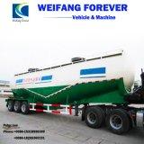 Eixo 3 40m3/50m3/60m3/70m3 em pó a granel/Tanque de cimento Semi-Truck Reboque