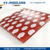 OEMの建築構造の陶磁器のSpandrelの薄板にされたガラスの色刷ガラスの工場