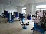 Mola de fio industrial mecânica que faz a máquina