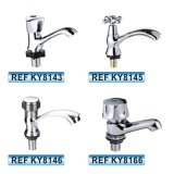 En Amérique du Sud Hot vendre de zinc de l'eau sanitaire robinet mélangeur robinet du bassin (KY8130)