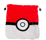 Pikachu Drawstring Bags Poke Ball Cotton Gift Bag