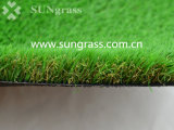 30мм пейзаж искусственных травяных в саду есть балкон (SUNQ-HY00144-1)