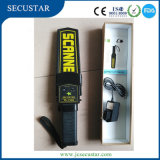 Metal detector tenuto in mano di buona qualità con la cinghia, caricabatteria