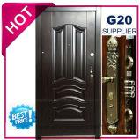 2017 Entrada de qualidade superior da porta de segurança de aço (EF-S126A)