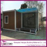 고품질 20ft/40ft 주문을 받아서 만들어진 호화스러운 콘테이너 집 살아있는 홈