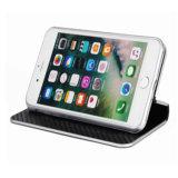 iPhone 7/8-Black аргументы за бумажника мобильного телефона PU