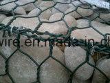 Casella esagonale galvanizzata di Gabion/casella Gabion del metallo e della pietra