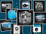 병원 사용 세탁기 갈퀴 산업 세탁물 장비, 세탁기