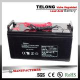 батарея геля 12V75ah свинцовокислотная для солнечных электрической системы и UPS