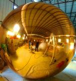 ذهبيّة صفراء مرآة كرة قابل للنفخ يعلن مرآة كرة لأنّ حادث