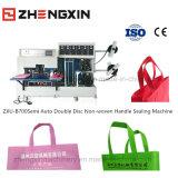 Double machine non tissée Zxu-B700 de cachetage de main de feuilles