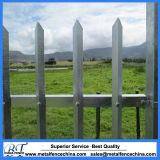 Puder-überzogenes hohe Sicherheits-Stahlmetallpalisade-Fechten