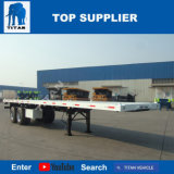 Титан Axles 40 FT 2 или 3 Axle планшетная трейлера контейнера тележка трейлера Semi