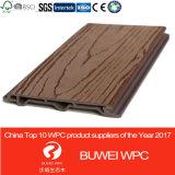 Les panneaux de mur composés en plastique en bois les meilleur marché