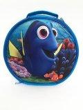 Blue 3D EVA aislado de la bolsa de almuerzo escolar