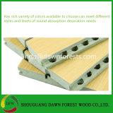 Perforé insonorisées MDF Panneaux acoustiques en bois en Chine usine