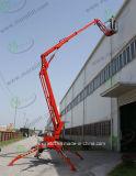 Elevación del brazo diésel para trabajos aéreos con elevación del brazo de remolque/CE