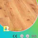 8.3Mm E0 HDF AC3 Estampadas Maple para absorver o ruído piso laminado