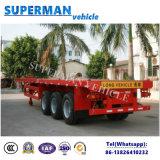Dell'Tri-Asse 40FT di programma di utilità del camion del contenitore rimorchio semi