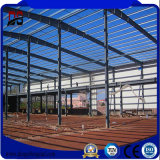 製造された鉄骨構造の倉庫の構築