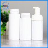 bottiglia cosmetica all'ingrosso di plastica della gomma piuma del sapone dell'animale domestico 120ml con la pompa