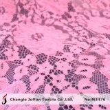 Чистый хлопок расслабления кружева для платья (M3476)