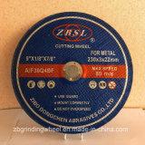Abschleifende Ausschnitt-Platte für Metall/Steel-230X3X22.2