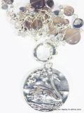 Tegenhanger van de Halsband van de Zwaan van de manier de Anti Zilveren Zwemmende