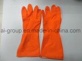 Настраиваемые Латексные перчатки домашних хозяйств для очистки
