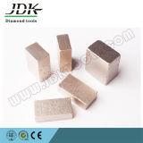 단단하고 연약한 대리석 (JDK-L008)를 위한 다이아몬드 세그먼트
