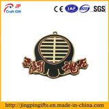 Изготовленный на заказ чувствительное медаль металла формы цветка