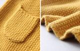 冬の女の子のための長い袖のウールのニットウェア