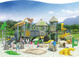 Kaiqi klassischer alter Dinosaurier-kommerzielles im Freienspielplatz-Gerät der Stamm-Serien-Kq-60006A