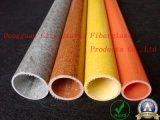 La flexibilidad y la buena Tubo de aislamiento de fibra de vidrio