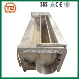 Het Borstelen van de Aardappel van de Machine van het Schilmesje van de Aardappel van de Machine van de bataat Online Automatische Machine