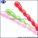 熱い販売マルチカラー螺線形の気球の中国の卸売
