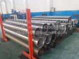 Induction de 6 pouces en acier inoxydable soudé Wrapped V Couvercle de fil de cale Raccords de tuyaux d'échappement