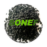 Humic 산 유기 두엄 검정 입자 유기 비료 중국 제조자