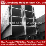 Poutre en double T légère préfabriquée/préfabriquée d'entrepôt de bâti en acier/structure