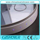 Cabine de duche de vapor de massagem de porta deslizante (GT0533)