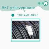 Etiquetas adhesivas de Pet, alta resistencia al calor de etiquetas, papel adhesivo código QR personalizado