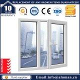 Aluminiumflügelfenster-Fenster mit Sicherheits-Gitter in Typen 50